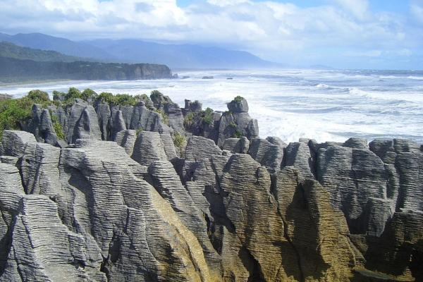 The Pancake Rocks and Punakaiki Blow Holes